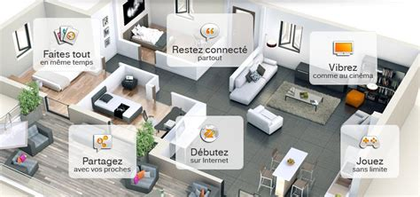 bureau d 騁ude domotique entrez dans la maison connect 233 e d orange communaut 233 orange