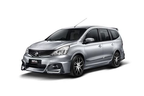 Lu Led Mobil Grand Livina nissan grand livina gets new impul package auto news carlist my