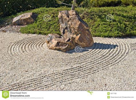 ghiaia giardino giardino giapponese della ghiaia della roccia immagine