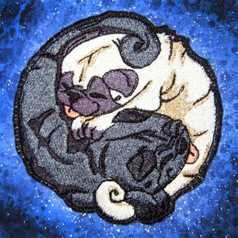 pug yin yang 11 products for the black pug owner