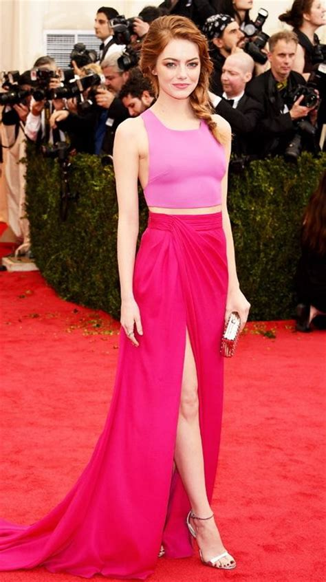 emma stone pink dress what to wear with pink dresses 2018 fashiontasty com