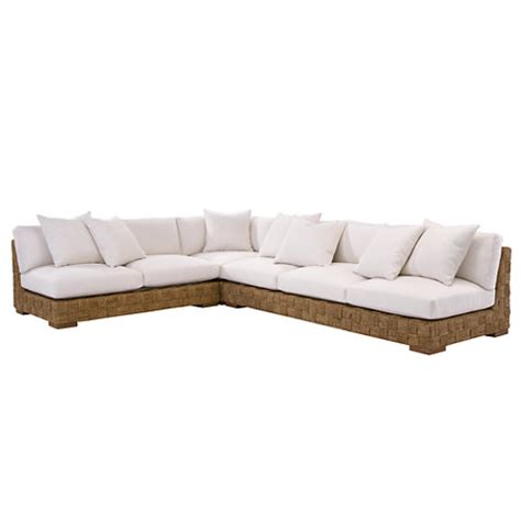 ralph lauren sectional black palms sectional sofas loveseats furniture