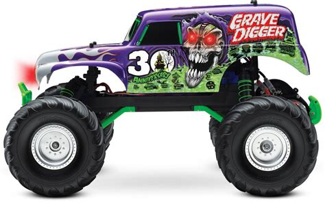 grave digger toy monster truck monster jam grave digger toy for kids youtube