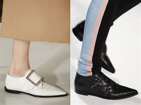 shoe trend top winter 2017 shoes trends from runways fashionglint