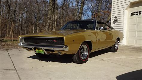 1968 dodge charger hemi 1968 dodge charger r t in medium gold 426 hemi engine