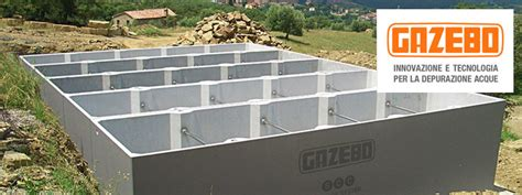 vasche raccolta acqua piovana impianti di recupero acqua piovana della gazebo s p a