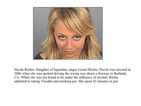 Richie Charged With Dui Had Pot Vicodin In System by Dui