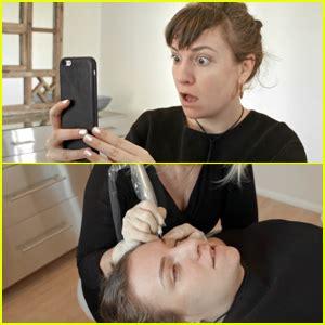 lena dunham eyebrows instagram lena dunham transformed her brows with microblading