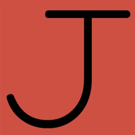 J Letter Letter J