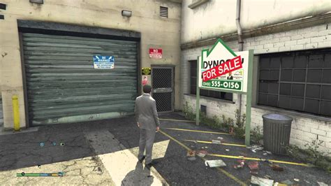 How To Purchase A Garage In Gta 5 michael buying garage grand theft auto v gta5 ps4