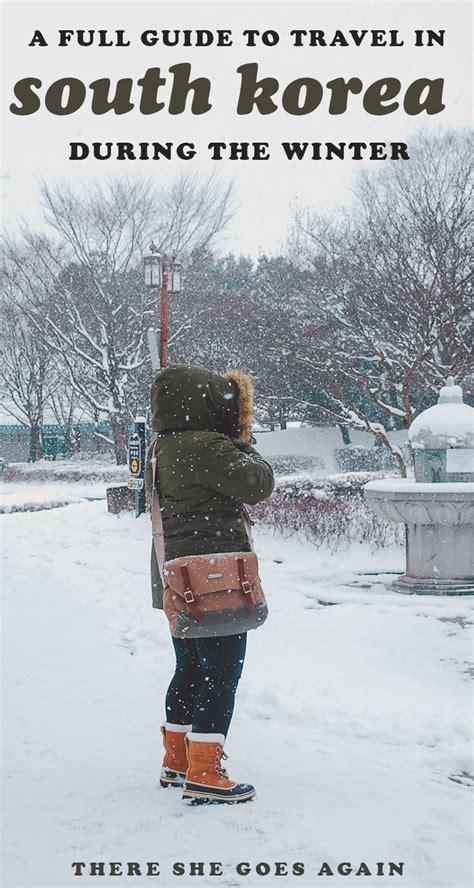guide  winter  korea survival tips