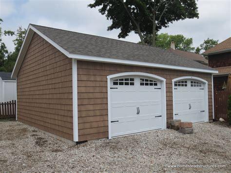 2 car garages 2 car garage homestead structures