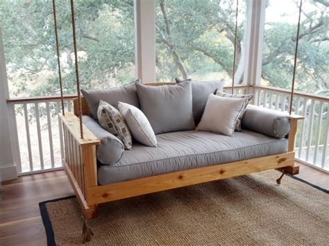 outdoor swing couch the daniel island swing bed