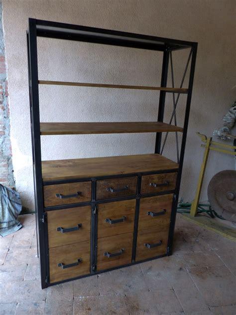 porte style atelier 3145 fabrication sur mesure mobilier industriel bois m 232 tal