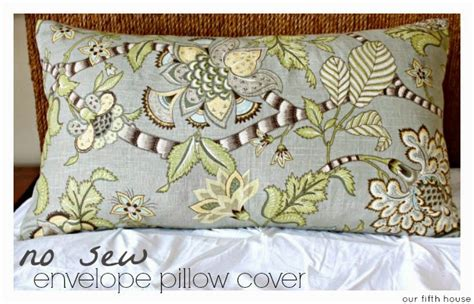 pattern for envelope style cushion cover no sew envelope pillow cover tutorial our fifth house