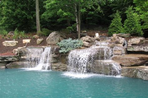 pool designs with waterfalls swimming pool waterfall designs pool design pool ideas