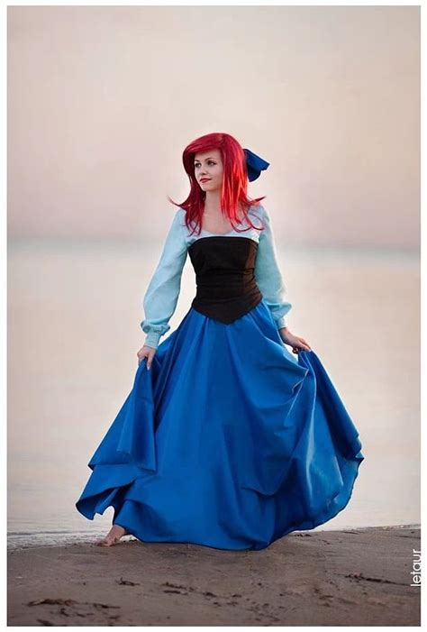 pretty  accurate ariel cosplay features  surprise