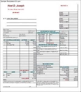 hvac template hvac invoices templates hvac invoice template hvac