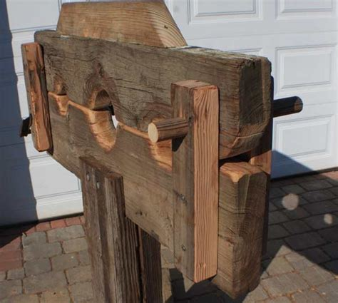spanking bench diy pillory because you never know by uglyfredy