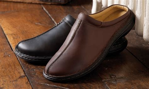 churchill leather slippers sw shoes deal of the day groupon
