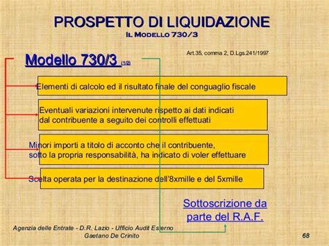 ufficio delle entrate pavia ufficio prospetto di liquidazione agenzia delle entrate