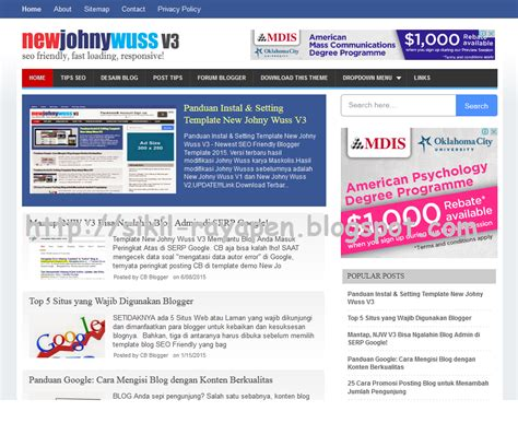 new templates for blogger 2015 10 template blog seo friendly responsive dan fast loading