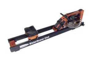 Waterrower club rowing machine for sale at helisports