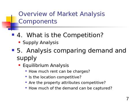 real estate market analysis basic principles an overview