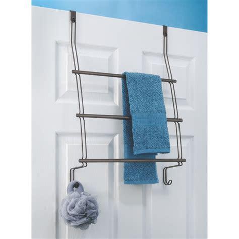 Shower Door Towel Rack by Interdesign Classico The Shower Door Towel Rack