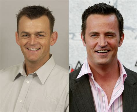matthew perry espn doppelgangers adam gilchrist and matthew perry page 2