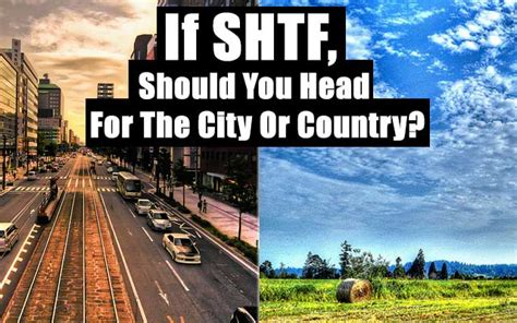 Kaos City And Country 16 if shtf should you for the city or country shtf prepping homesteading central
