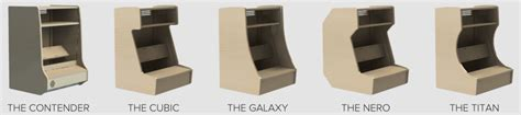 Bartop Cabinet Kit Bartop Arcade Cabinets From Gameroomdesigns Ca Proudly