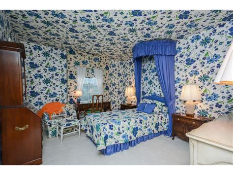 matching wallpaper and curtains fabrics this wacky wallpaper house will assault your eyes with