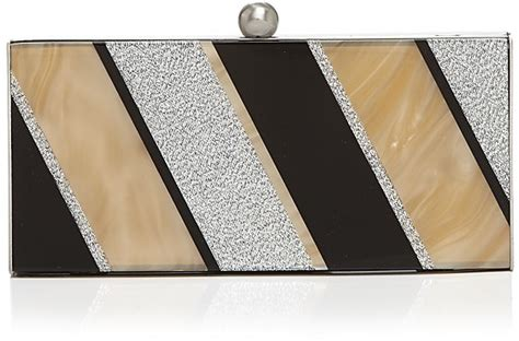 Mcclintocks Marbled Lucite Clutch The Bag by Clutch Marble Metallic Lucite Shopstyle