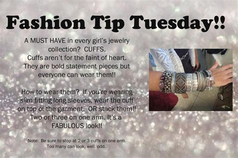 Jewelry Business Tip Streams Of - fashion tip tuesday paparazzi