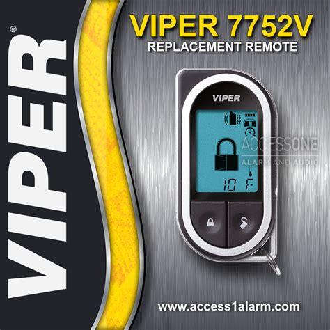 Viper 2 Way Lcd Remote 7752v For 4702v 4704v 4708v
