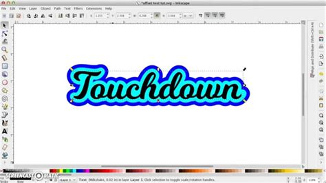 Can I Use Outline Offset by Offset Text In Inkscape The Easy Way