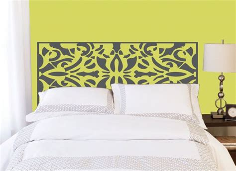 headboard wall sticker 25 best ideas about headboard decal on pinterest the