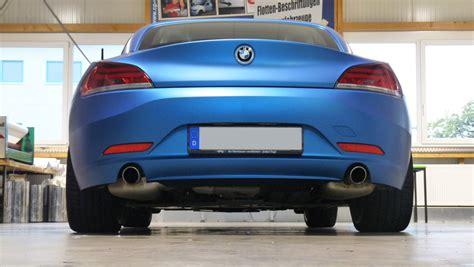 Autofolierung Vor Und Nachteile by Vollverklebung Bmw Z4 Car Wrapping Autofolierung Bmw