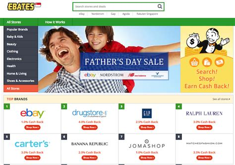 Fab Site Ebatescom by Ebates Singapore S Launch Signals The Start Of Singapore S