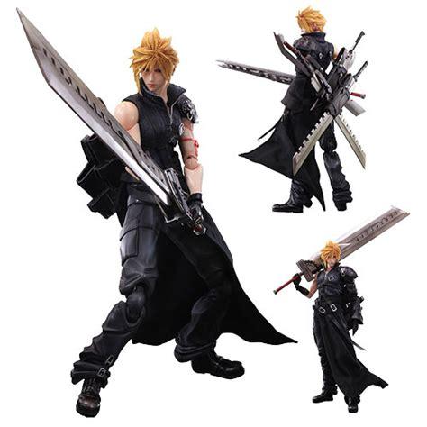 Play Arts Kingdom Hearts Cloud Strife Sephiroth Figure vii advent children cloud strife pak figure