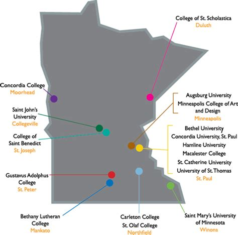 Simple Search Minnesota Augsburg College Map My
