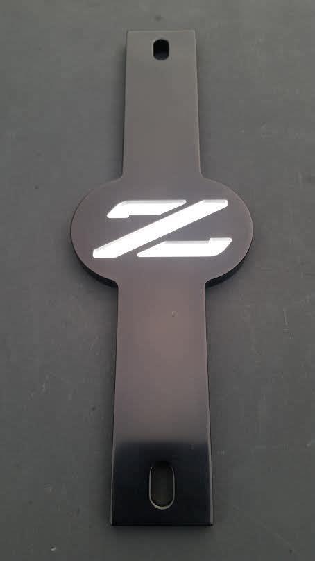 Jam Tangan Custom Logo Gtr Nismo billet z32 z logo battery hold 90 96 nissan 280zx