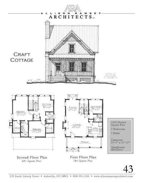 allison ramsey floor plans craft cottage allison ramsey architects house plans in