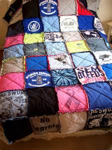 tshirt quilt memory blanket custom made from your own tees