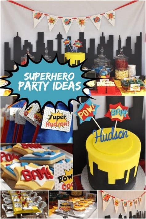 Ka Pow A  Ee  Boy Ee  S Super Hero Themed  Ee  Birthday Ee   Party