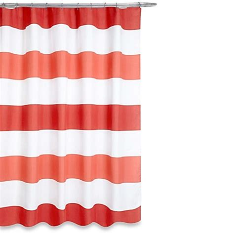 bed bath and beyond boca boca shower curtain in coral bed bath beyond