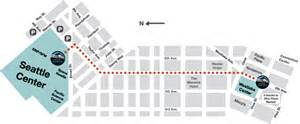 Seattle Center Map by About The Monorail Seattle Center Monorailseattle Monorail