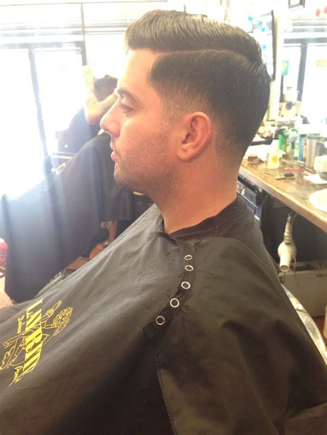 police officer haircuts traditional tapered men s haircut on a chicago police