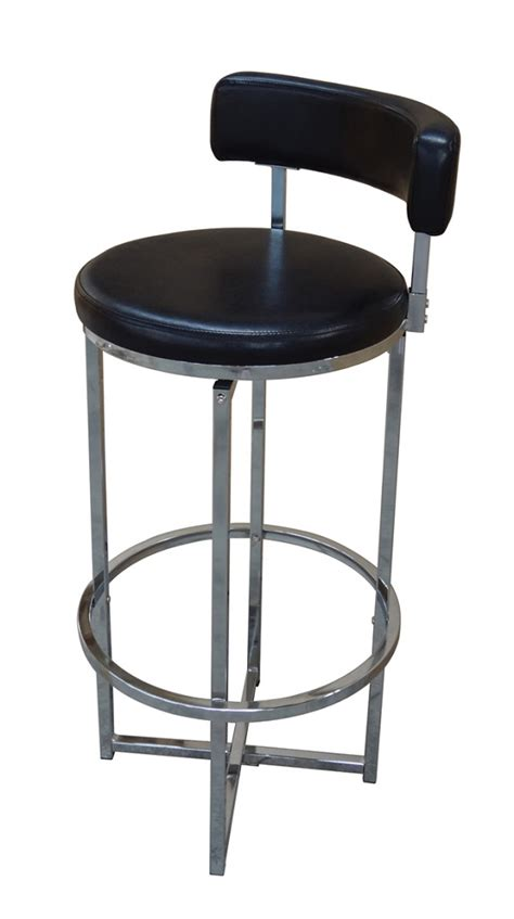 chrome swivel bar stools with back swivel bar stool chrome black